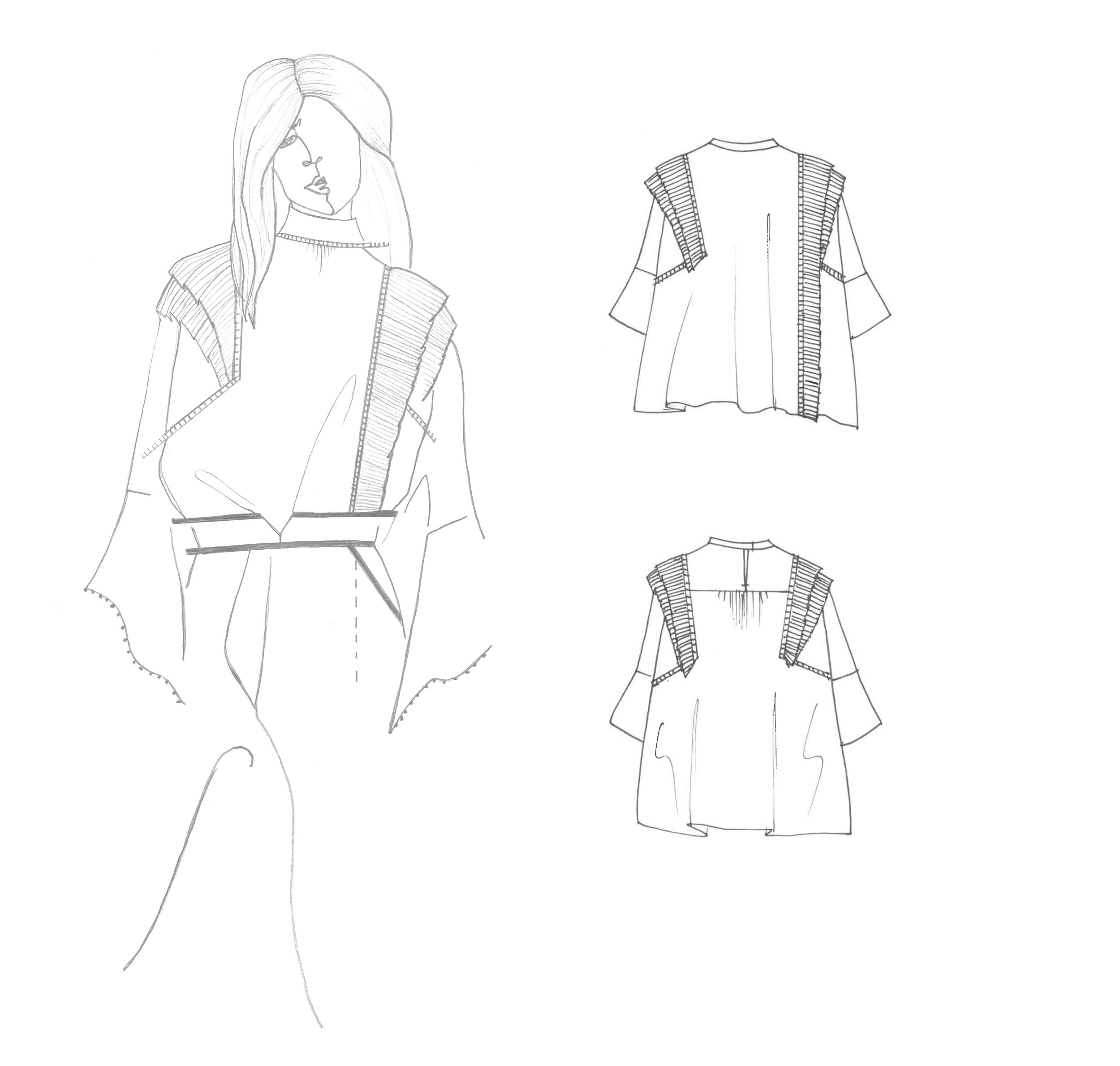Original Illustrations and Trade Sketches for @morrisonclothing