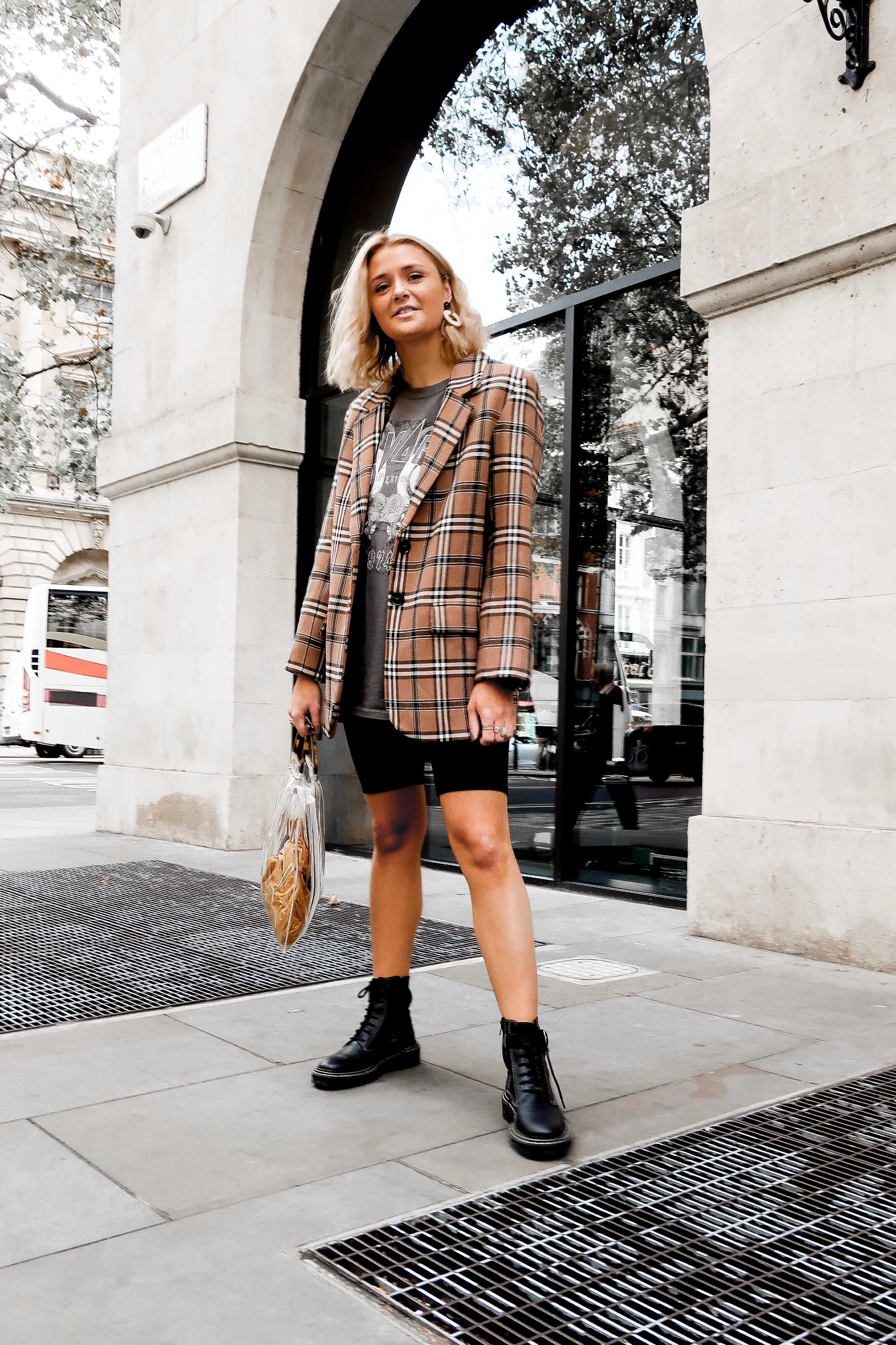 The Checked Blazer You Need in Your Life