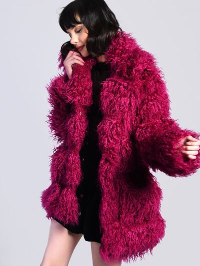Shaggy Teddy Coat