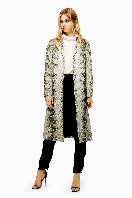 Snake Print Coat £85