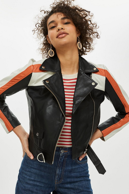 Leather Biker Jacket £169
