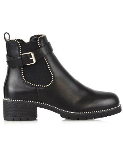 BLACK CHELSEA BOOTS £23.99