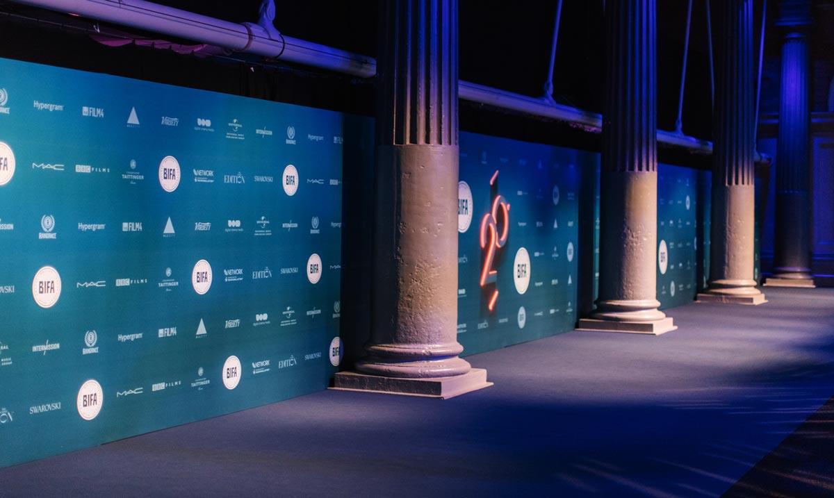 Environment / Print / Branding /Event / Awards / BIFA