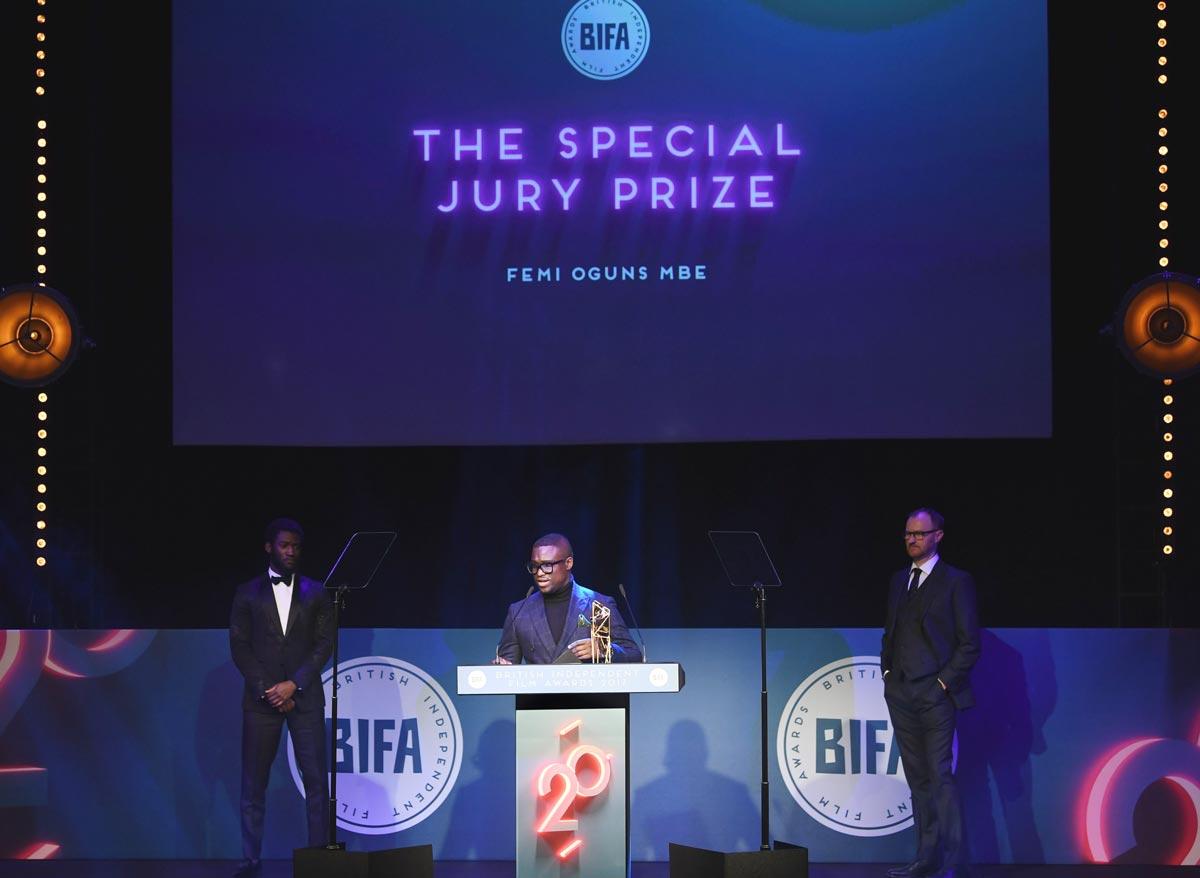 Branding / Stage / Print / Motion /Event / Awards / BIFA