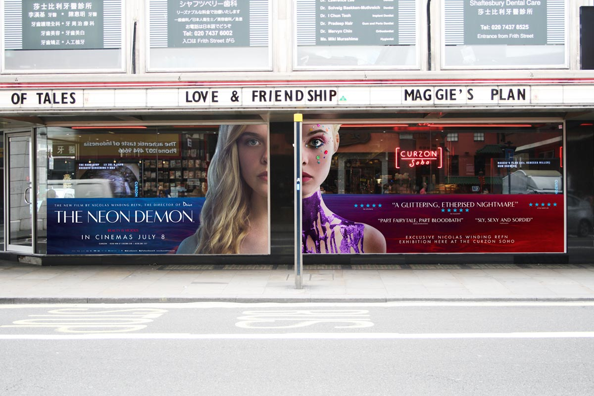 Curzon Take Over / Outdoor / Print / Thriller / Icon