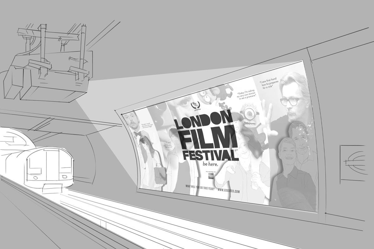 Concept / Outdoor / Print / Branding / BFI London Film Festival