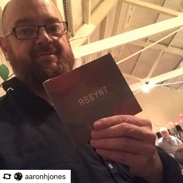 "@aaronhjones strikes lucky in the Benderloch Hall raffle! Aaron says: ""It's the best raffle prize I've ever won. Everyone must have one of these."" #luckynumber #roadtothenorth"