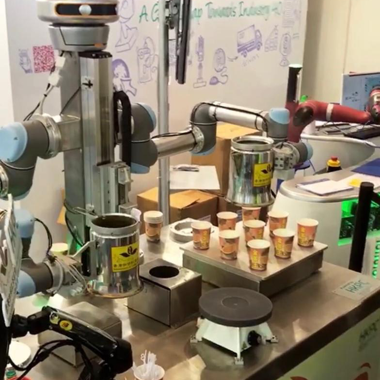 Meet Our Milk Tea Making Robot   See the famous KamChAI in action as he makes classic Hong Kong-style milk tea right in front of you.