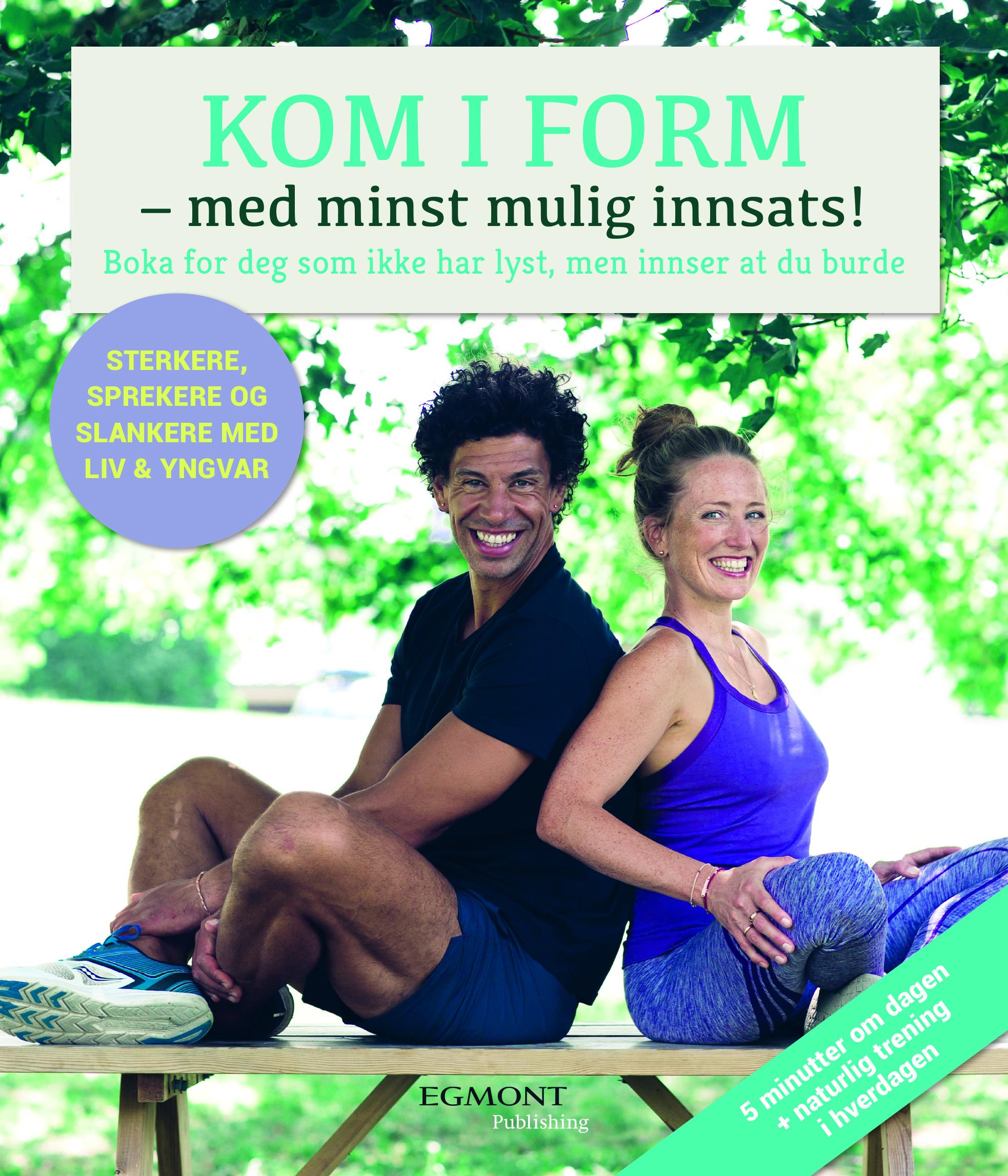 Coveret på den nye boka vår :-)