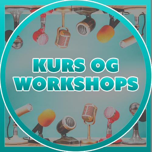Kurs og workshops