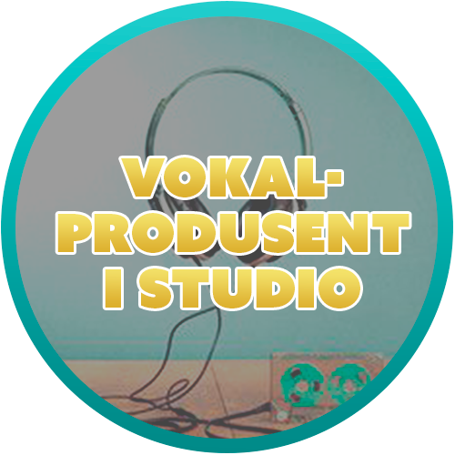 Vokalprodusent i studio