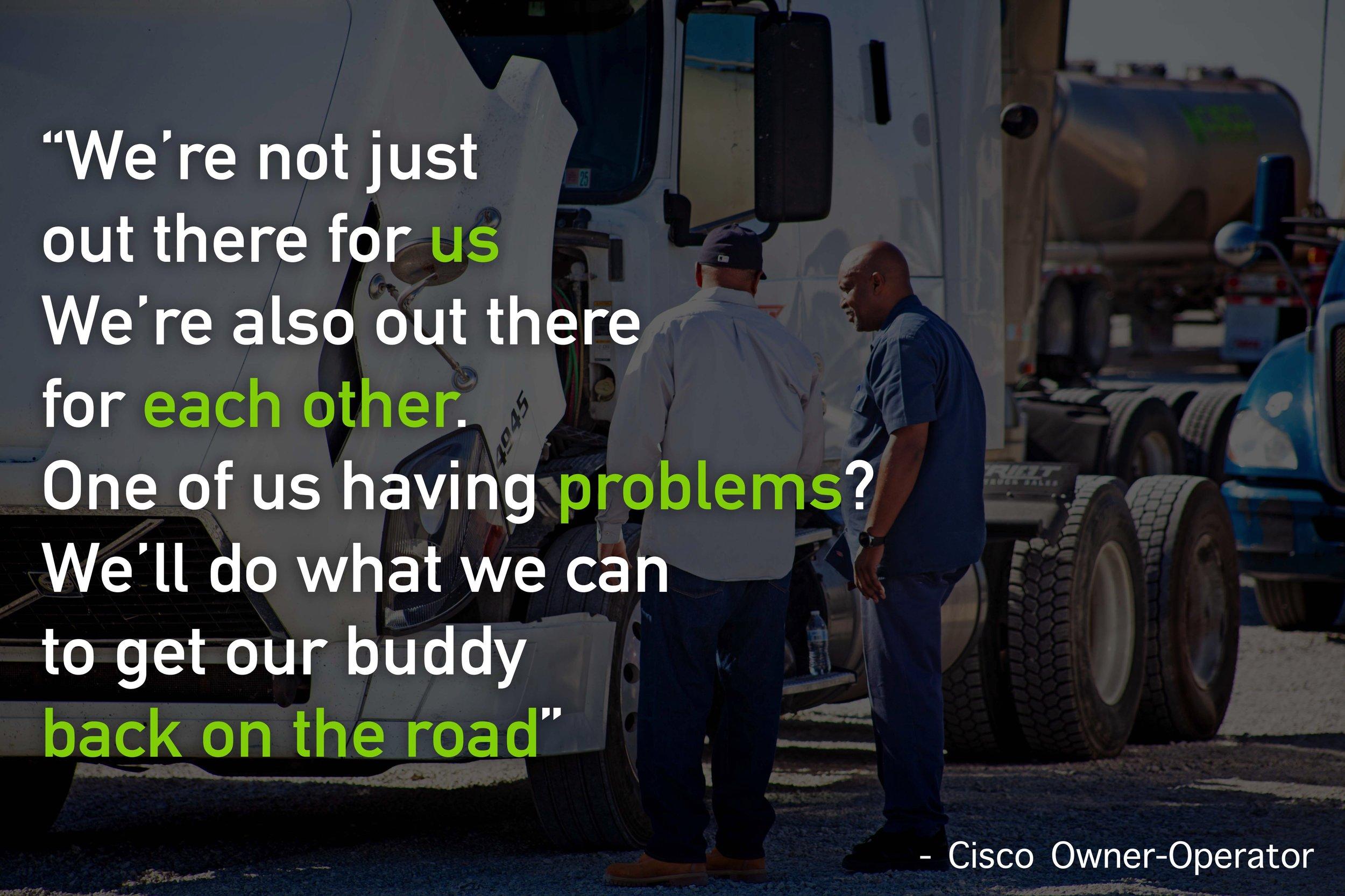 Cisco Logistics Drivers