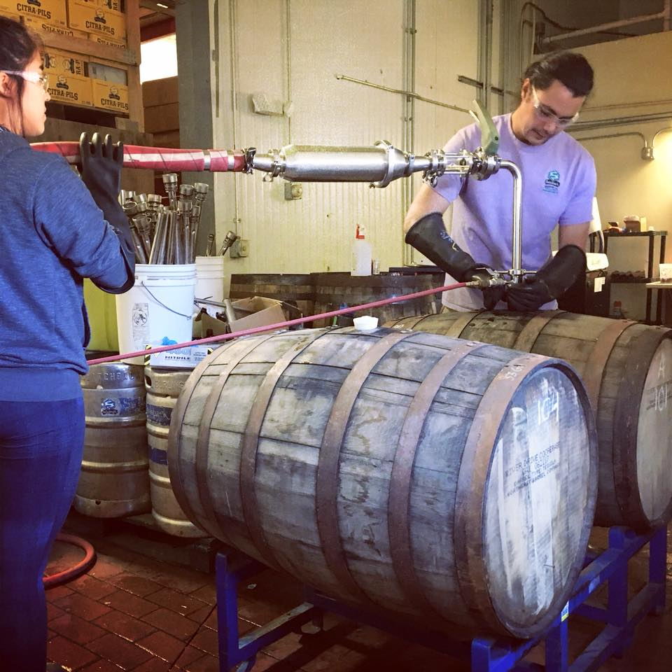 Switchback Brewing Company Barrel Aging