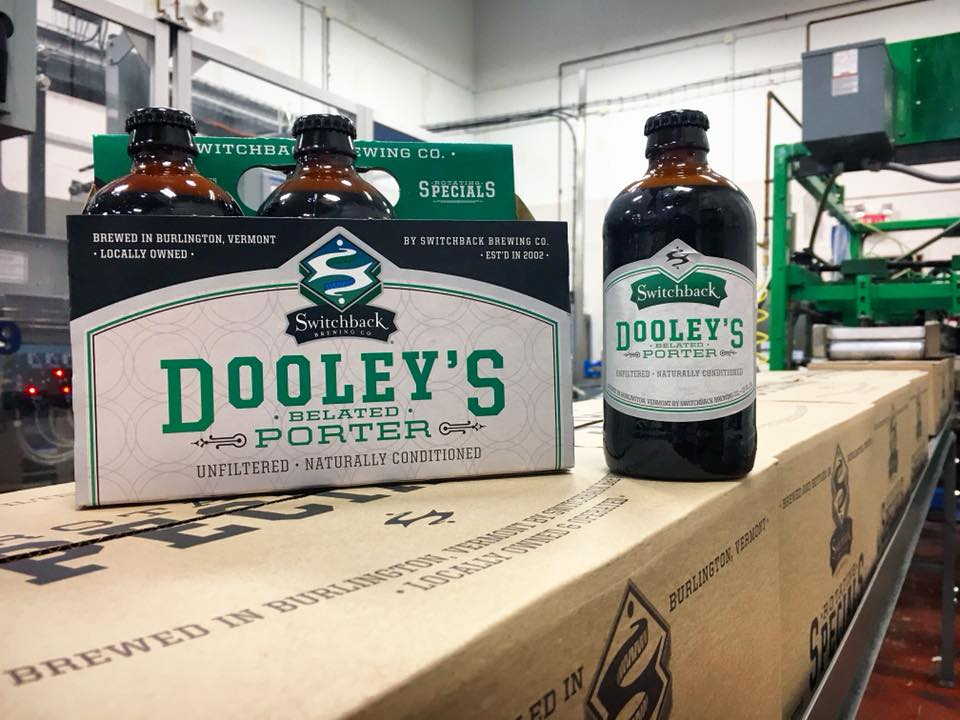 Switchback Brewing Company Dooley's Belated Porter