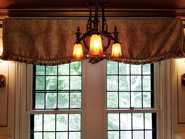 Window treatments tend to be a last thought in many people's minds.  Don't underestimate the impact they can have in your home! #cleveland #windowtreatments #interiordesign