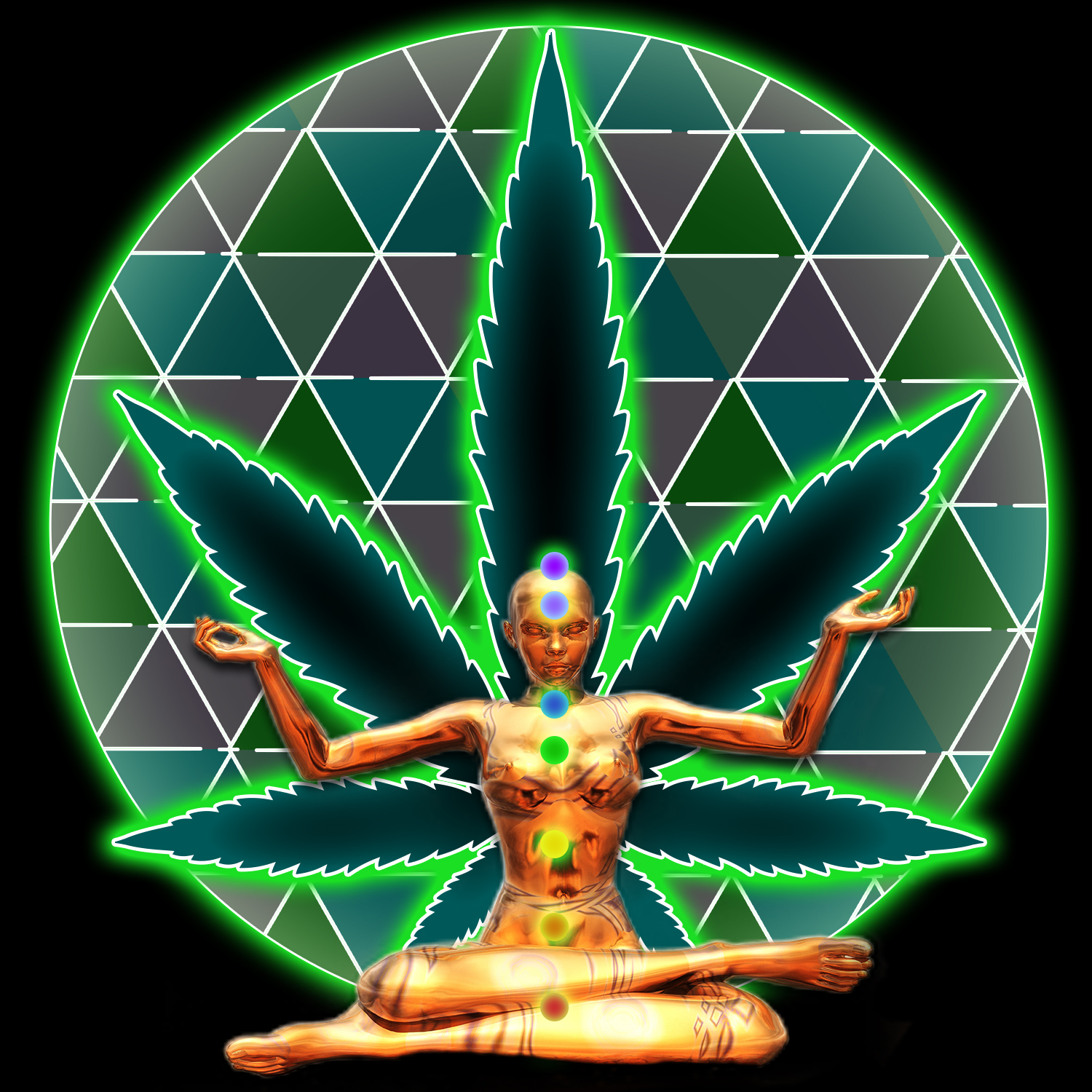 Ganja Glowga - August 3, 2019 | October 12, 2019 | November 9, 2019Cannabis-assisted, blacklight yoga.