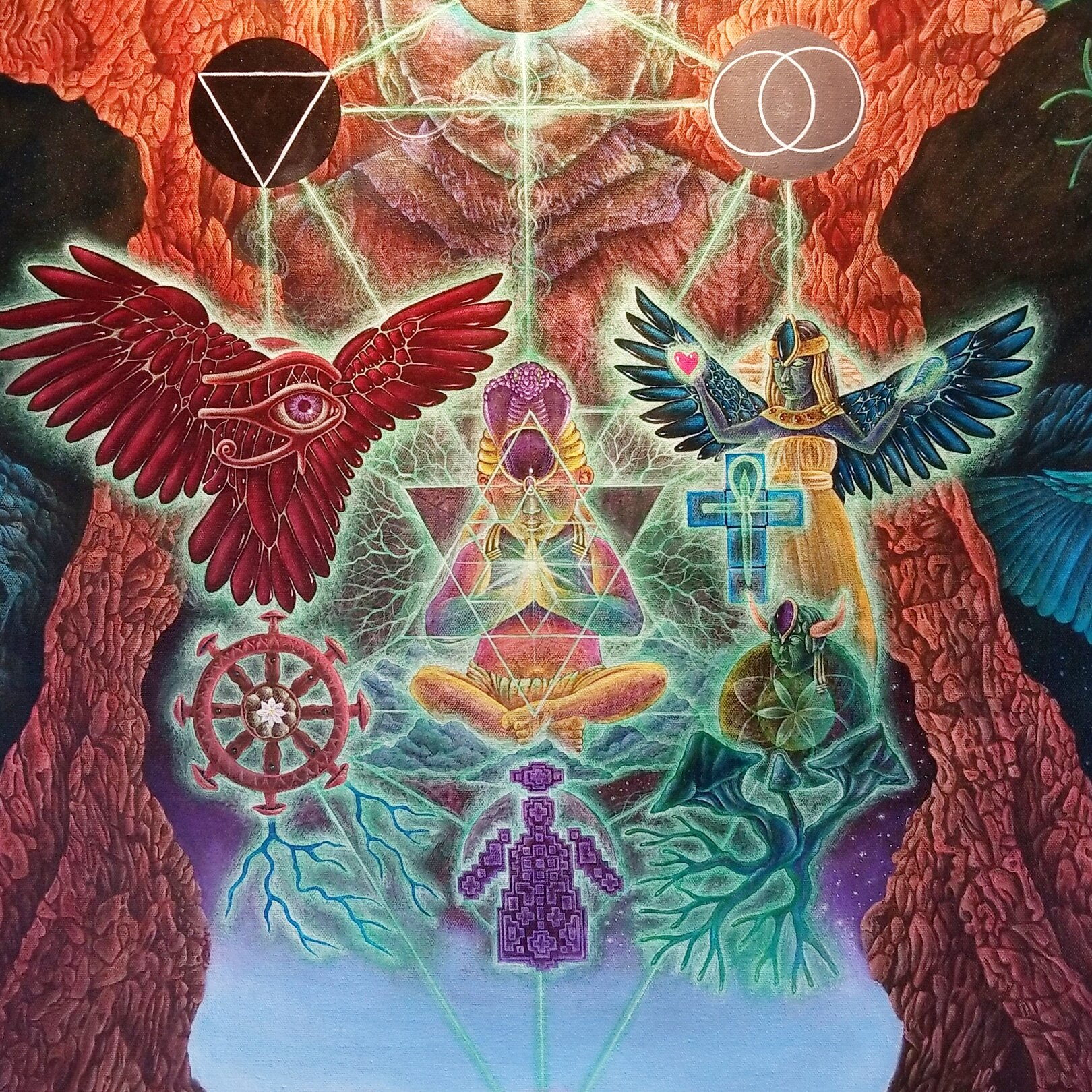 Art by Zachary Brown, Visionary Voyager