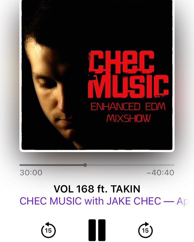 Fresh beats with @djtakin this time! Search Chec Music on iTunes 🤙🎧