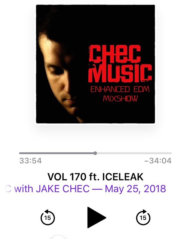 Fresh music this week with #weareiceleak #edm #checmusic