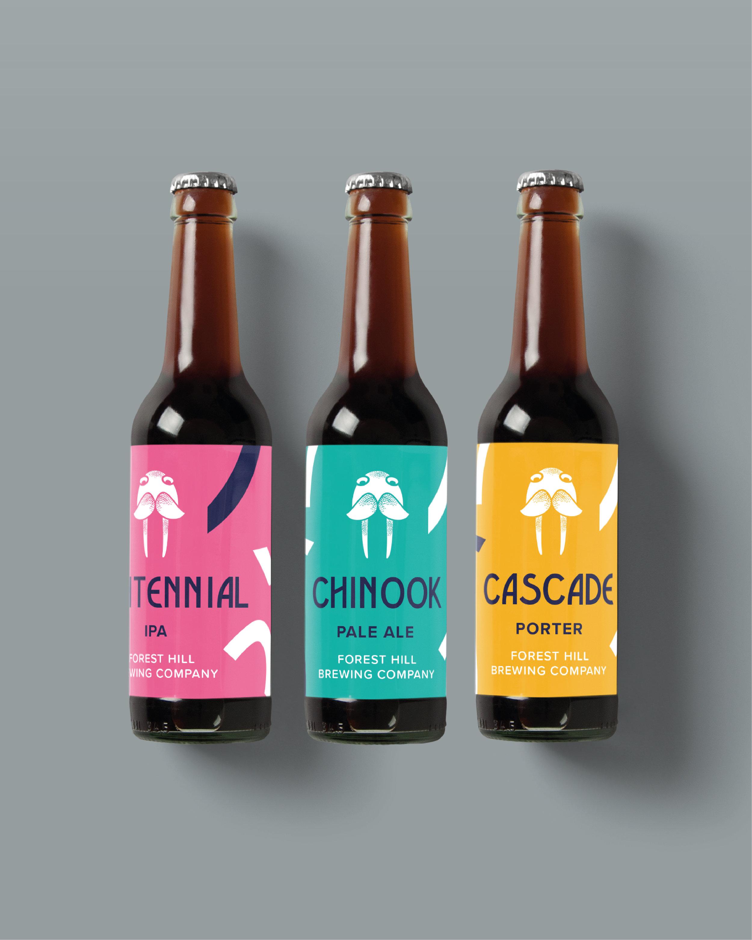 Beer Brewery Branding Concept