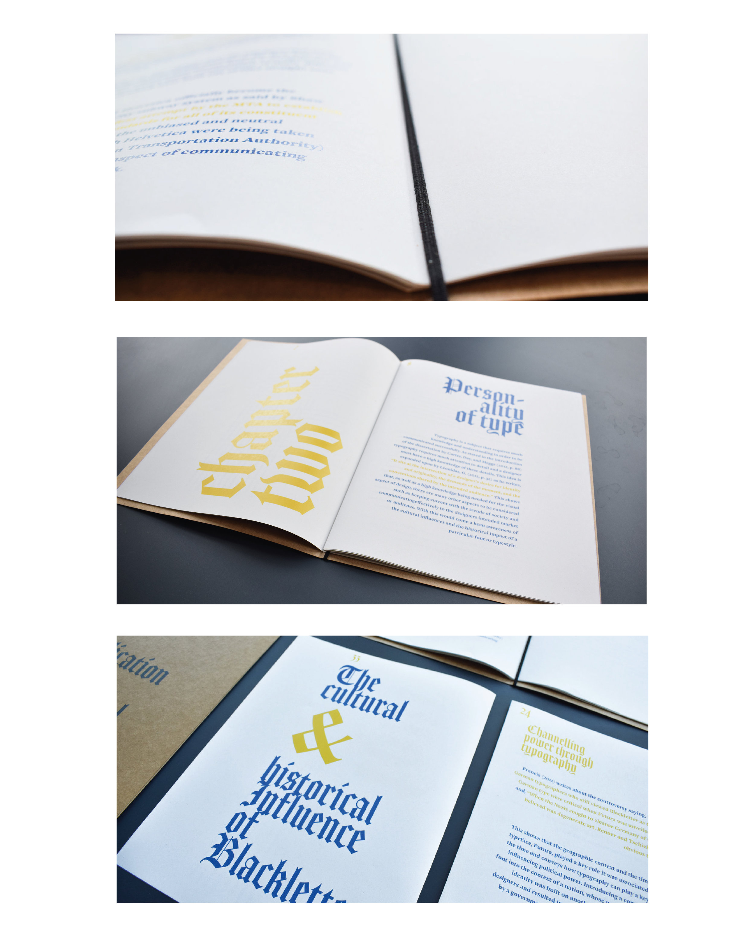 Publication Design About The Contextualisation of Typography