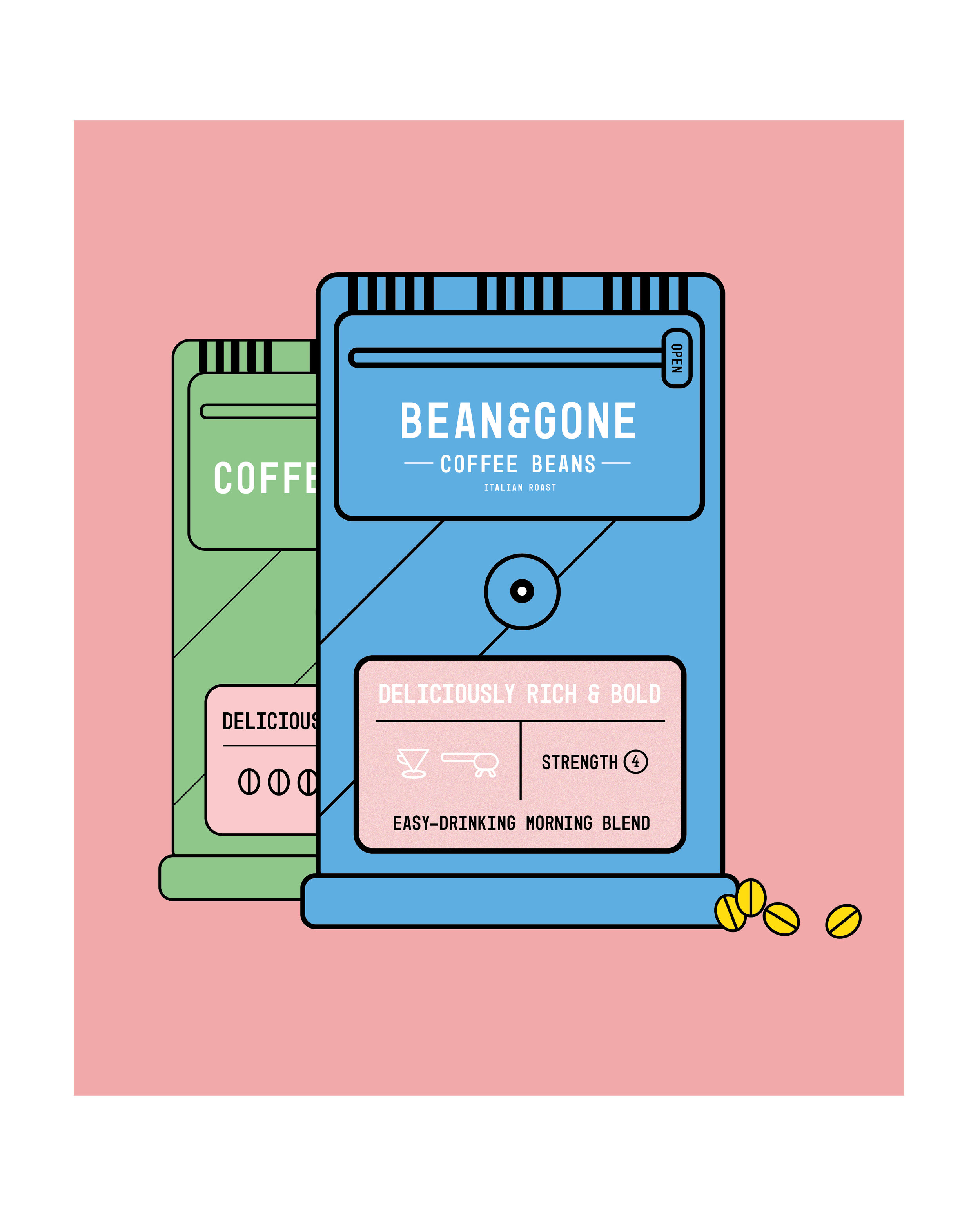 Editorial Illustration For Caffeine Magazine