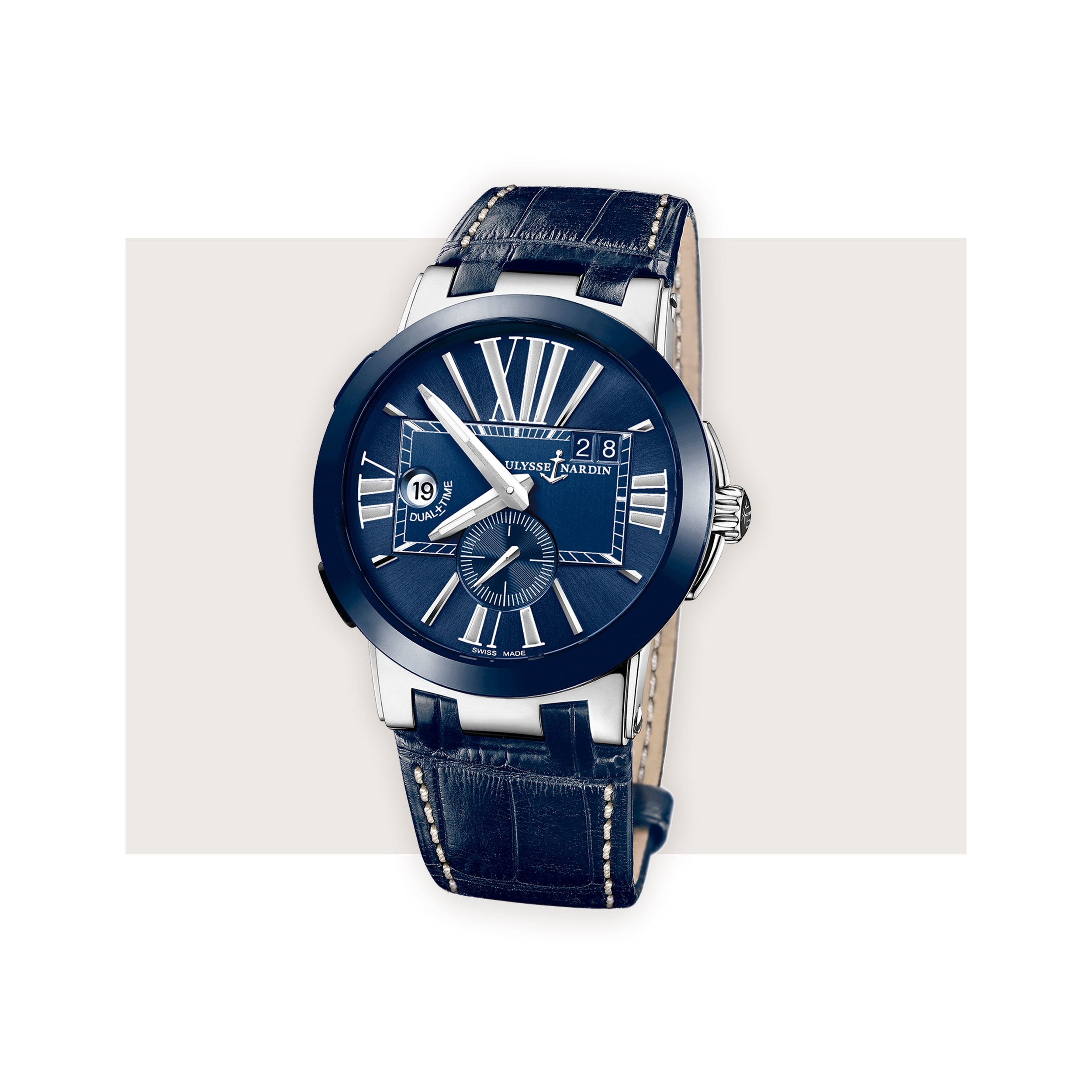 Ulysse Nardin - An elegant and legible dual time from independent watch maker Ulysse Nardin is great for travelers – especially those prone to time-zone hopping business trips.Ulysse Nardin Executive Dual Time, $8,700; troverie.com