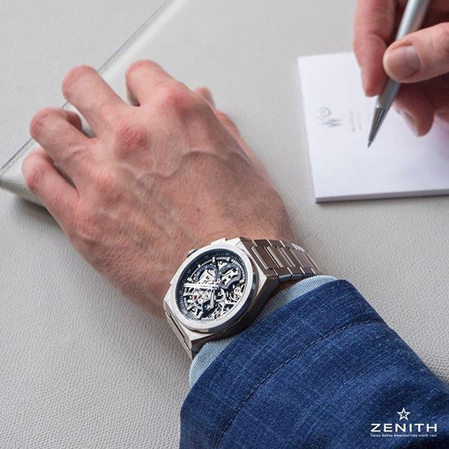 Our to do list for the day definitely has this @zenithwatches Defy on it...