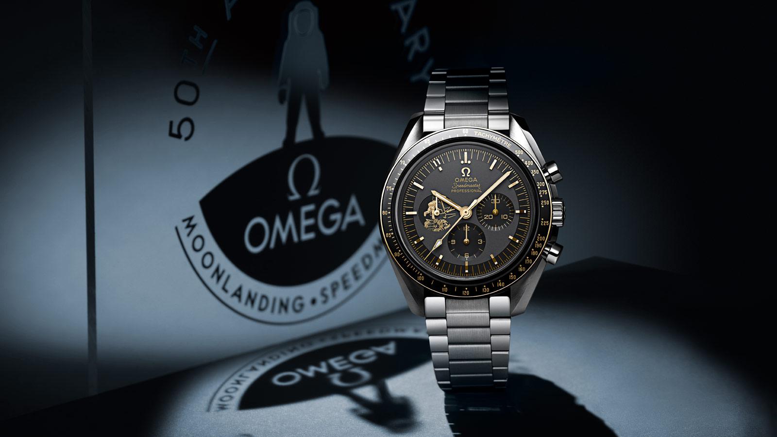 Omega Speedmaster Apollo 11 50th Anniversary LE  Photo Credit: Omega
