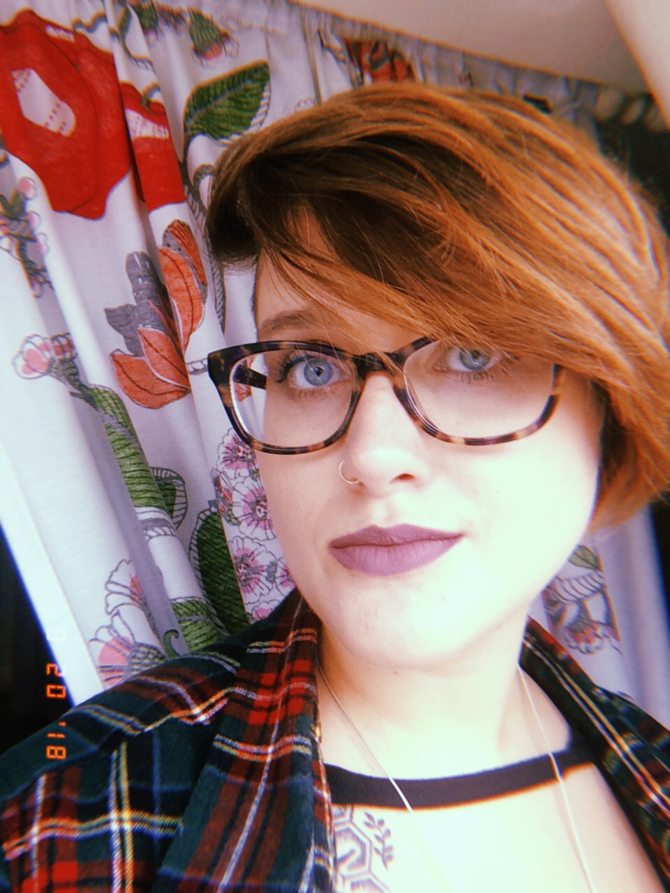 I'm bisexual. I'm living with depression and anxiety. I'm gender-non-conforming. I am still learning who I am every day. -