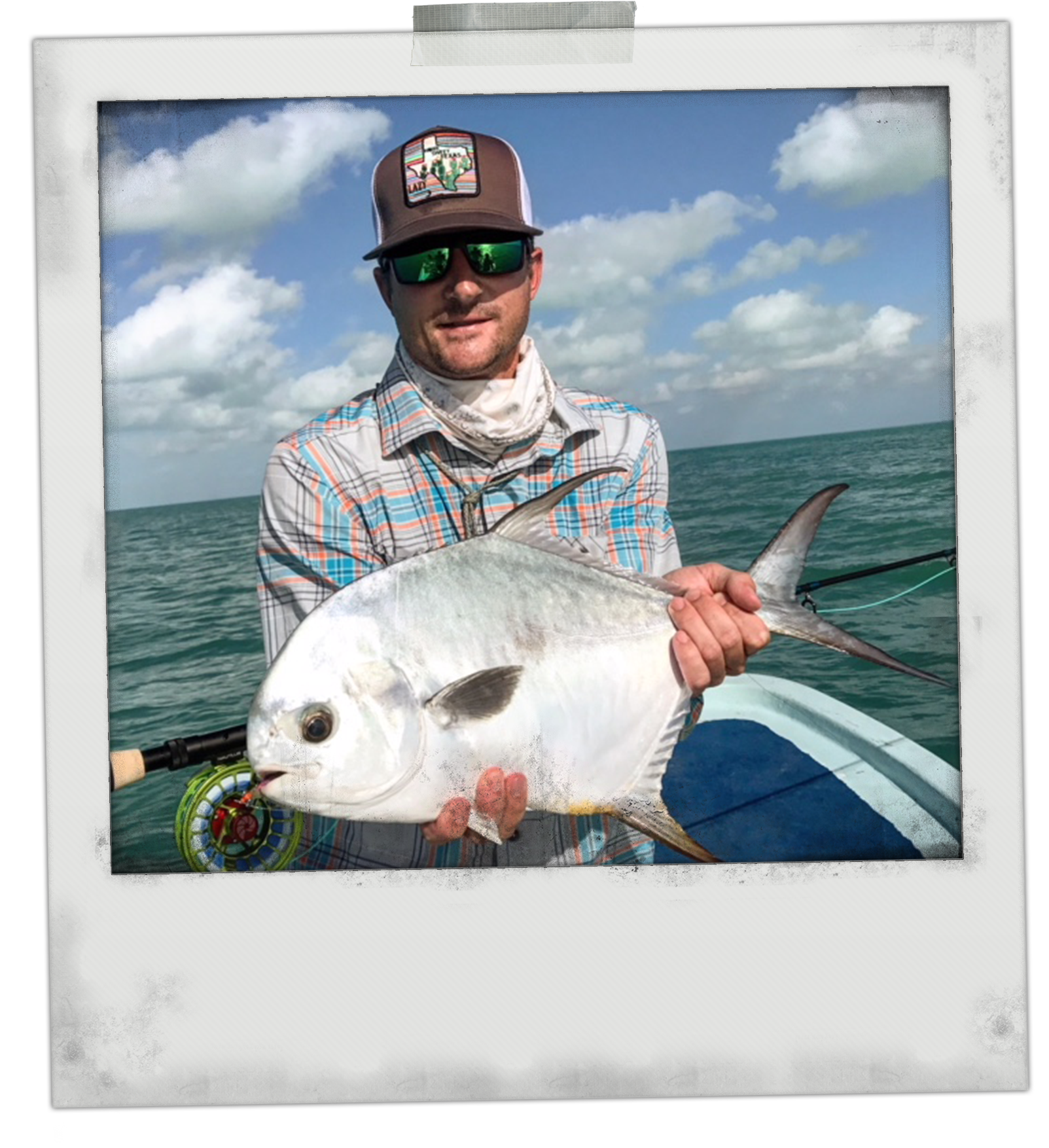 Permit on Fly at the Grand Slam Lodge