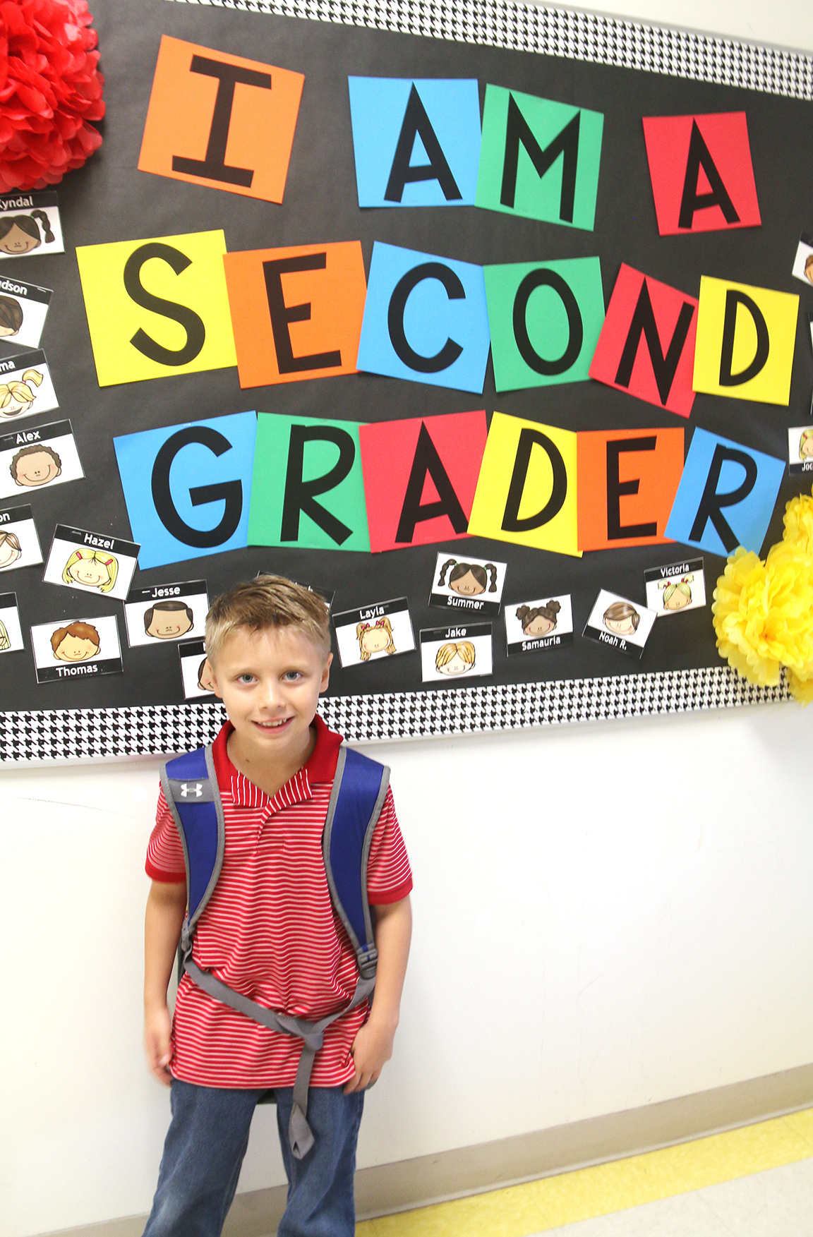 Thomas Floyd, second grade, Banks Elementary School