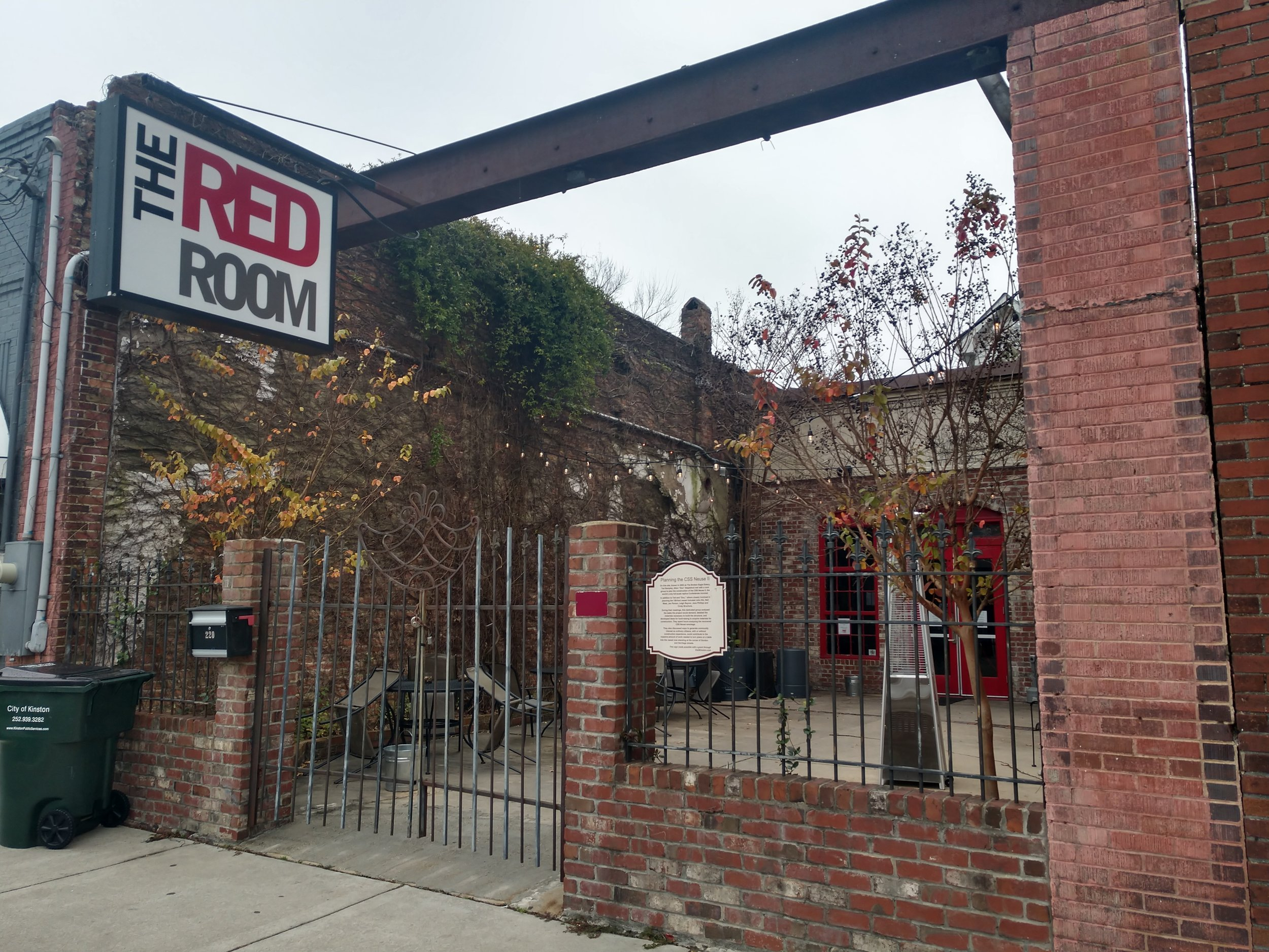 The Red Room will be open under Mother Earth Tap Room hours until the latter's renovations are finished to accommodate customers. Photo by Junious Smith III / Neuse News