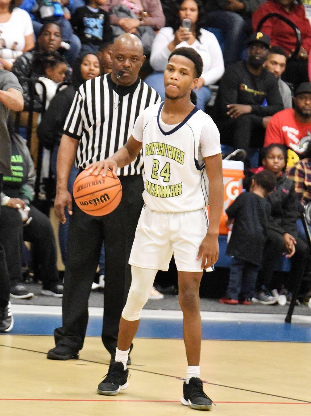 Malik Williams of Contentnea-Savannah School was named the tournament's MVP. Photo by William 'Bud' Hardy / Neuse News