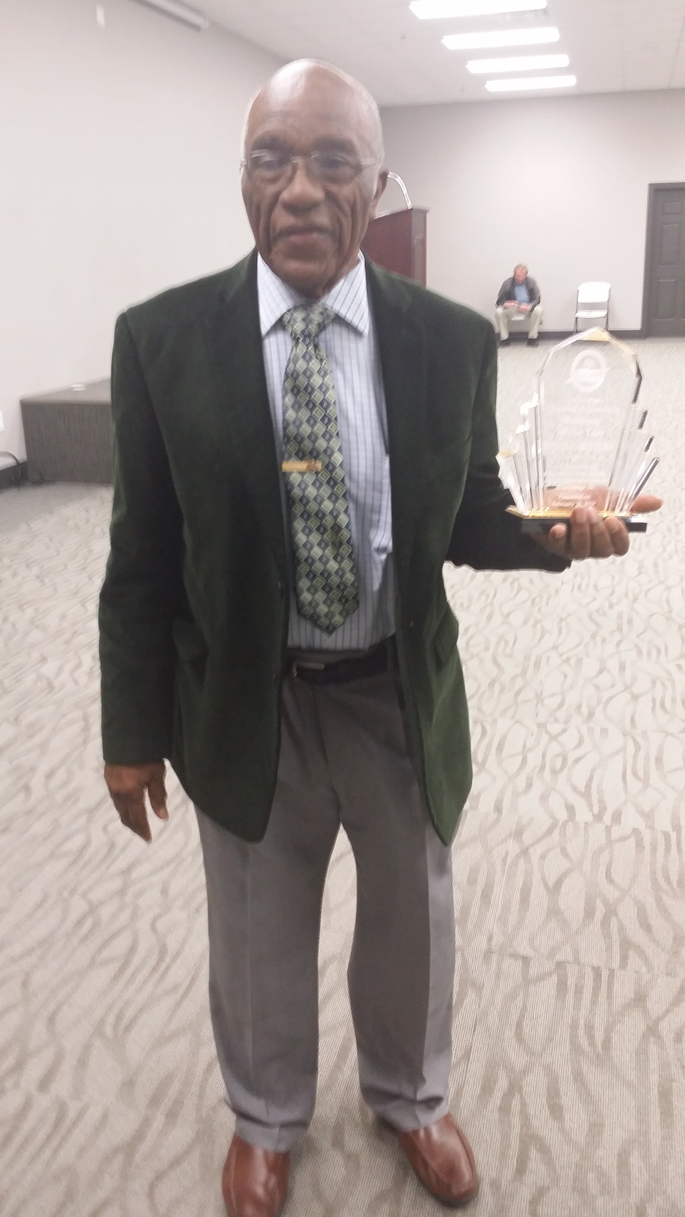 La Grange Chamber of Commerce Small Business of the Year owner Cornell Mewborn