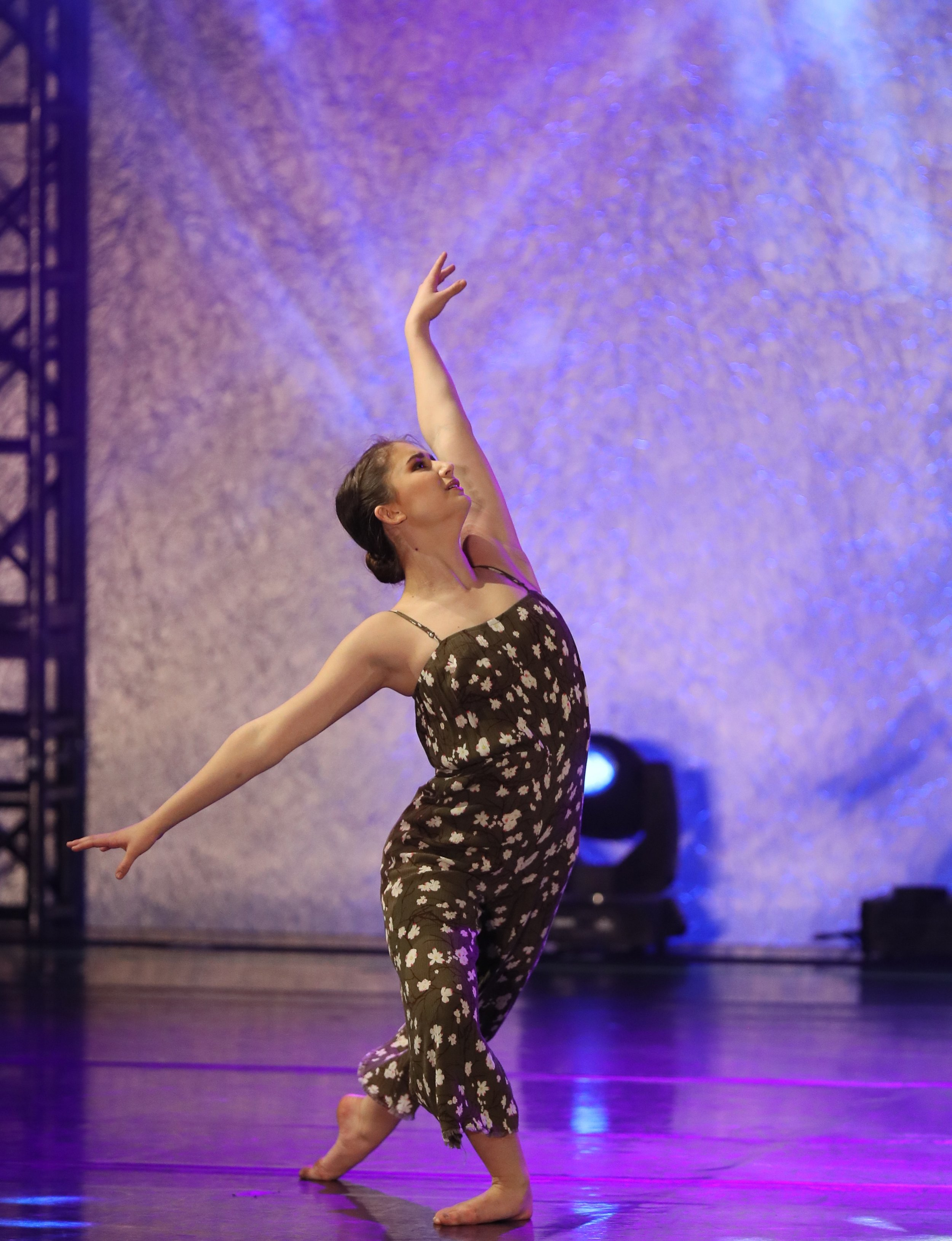 Matthews, a finalist in the NDEO Achievement Award competition, appeared in the Parrott Dance Showcase on April 4. Submitted photo.