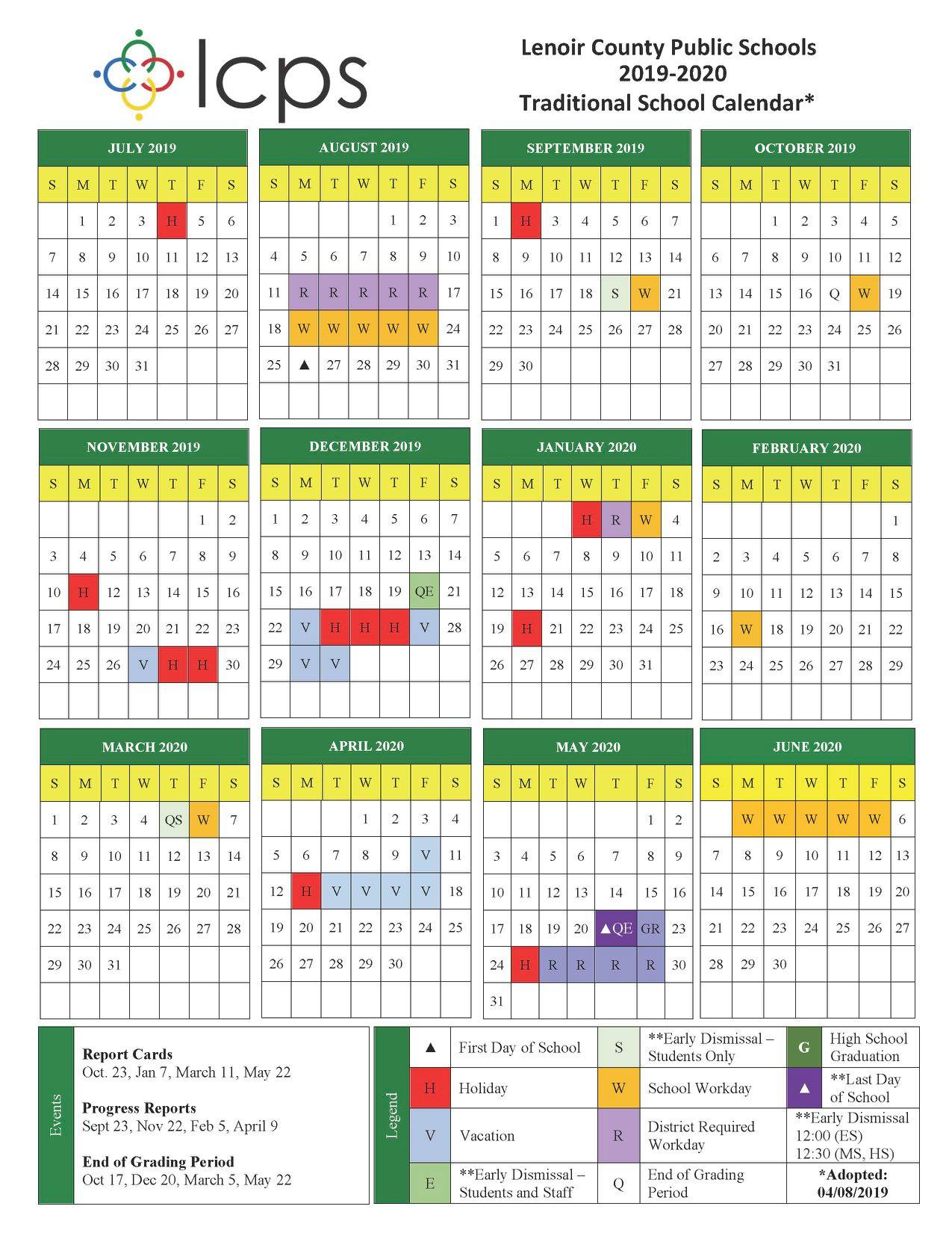 Lcps Calendar 2020 LCPS: Calendar approved for next school year to give students