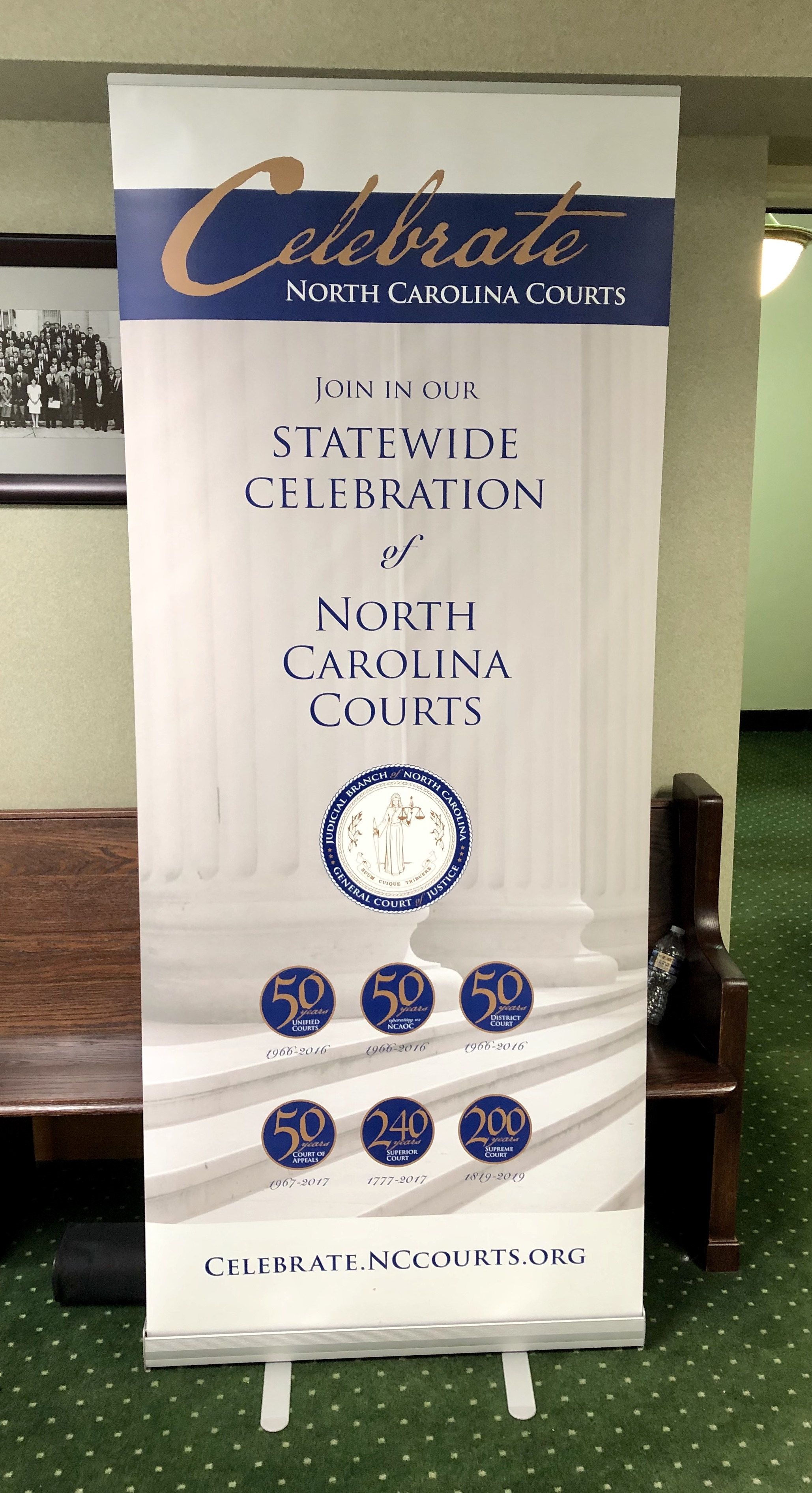 Tuesday's session was part of a statewide celebration of the courts. Photo by Catherine Hardee / Neuse News