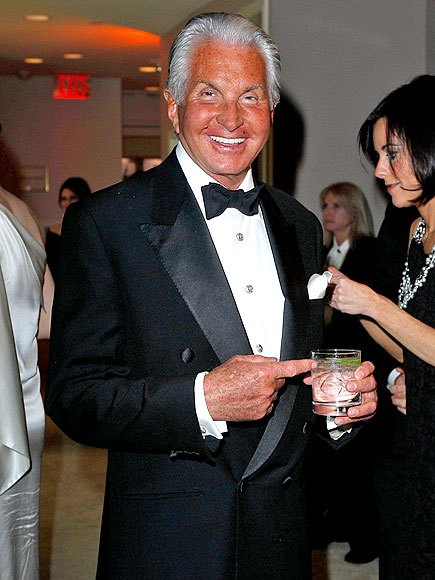 George Hamilton and his tan attend a party in Los Angeles / Photo from YouTube