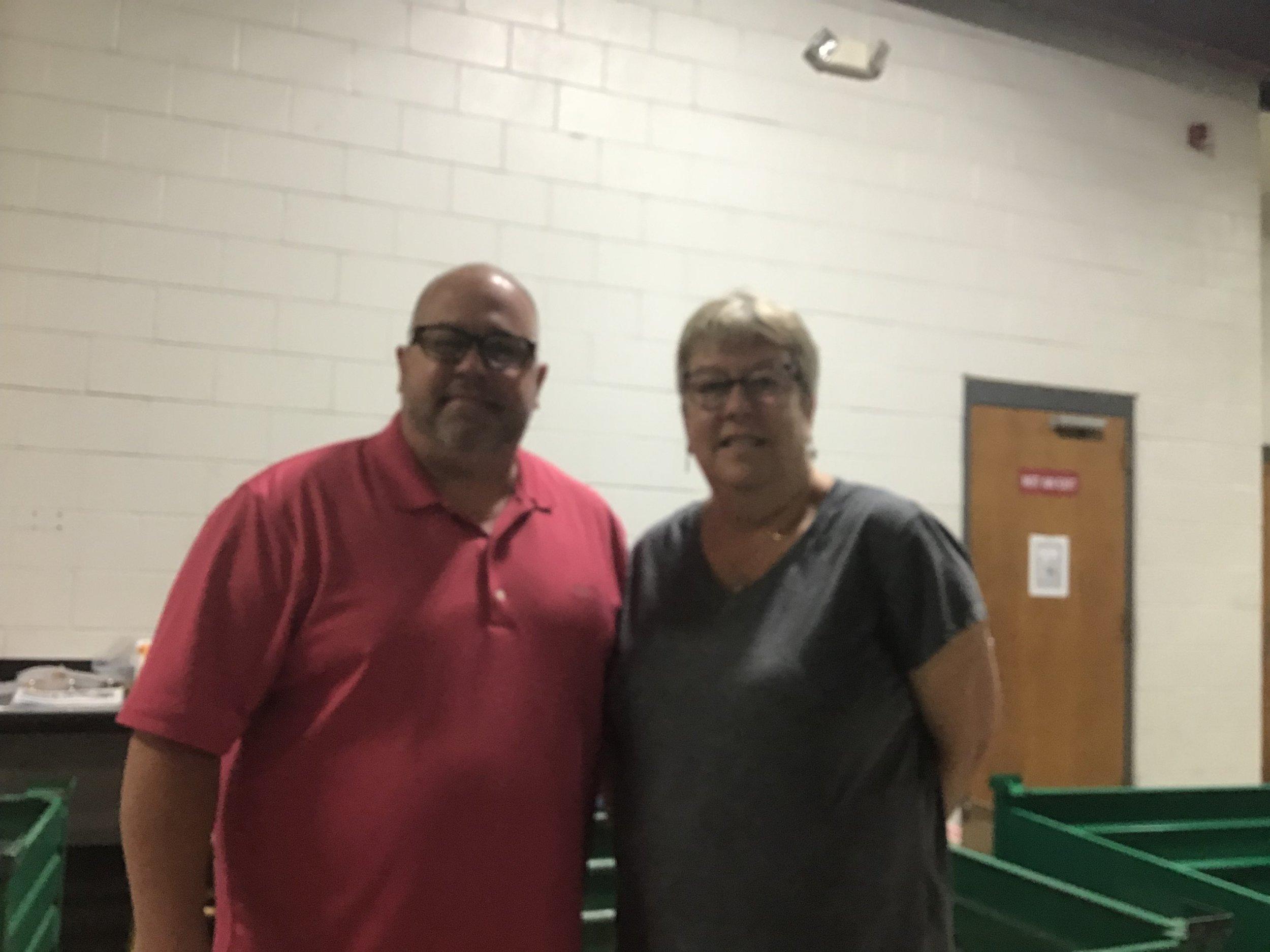 Mark Wilson and Pam Muller of Neuse Enterprises