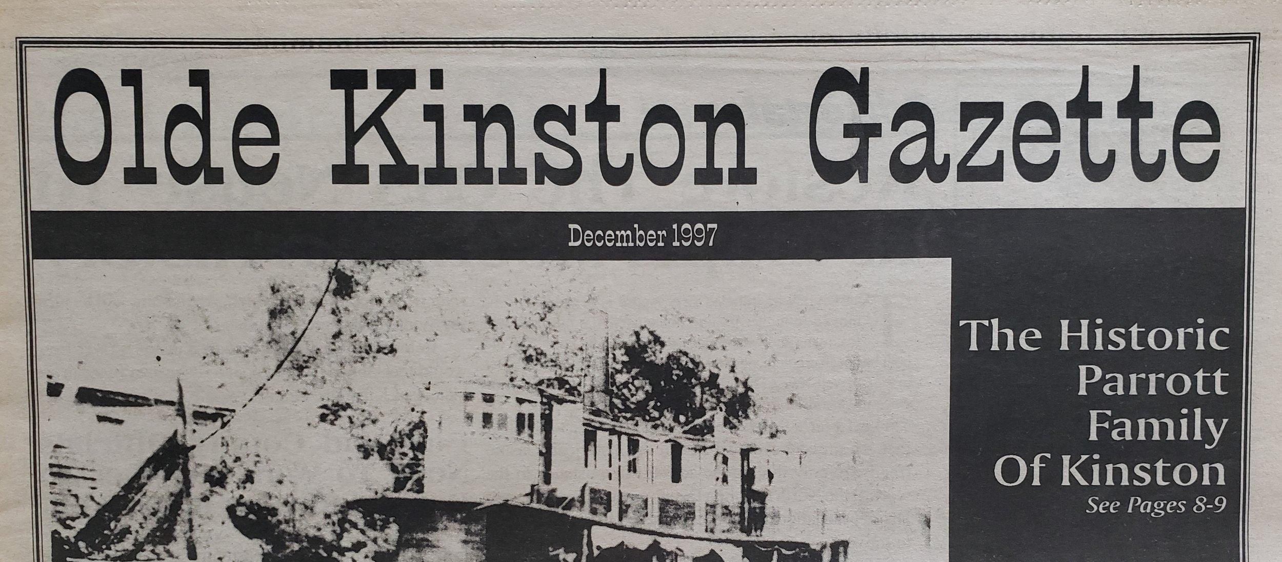Olde Kinston Gazette The Historic Parrott Family Of Kinston Part 1 Neuse News
