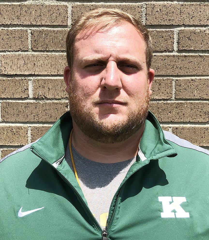 Kinston head football coach Ryan 'Diesel' Gieselman