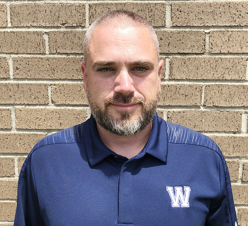 West Craven head football coach Michael Twichell