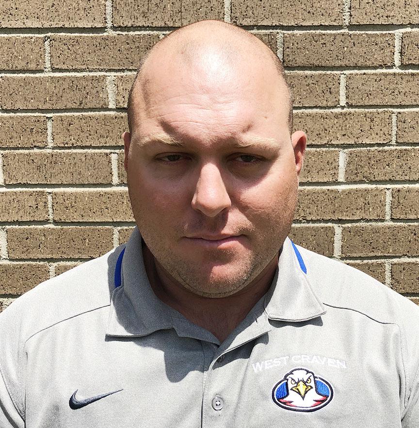 Washington head football coach Jon Blank
