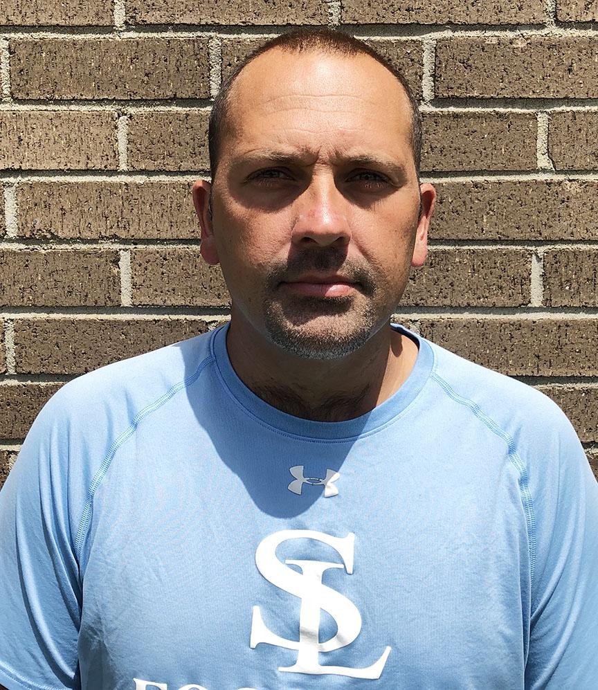 South Lenoir head football coach Jeremy Joyner