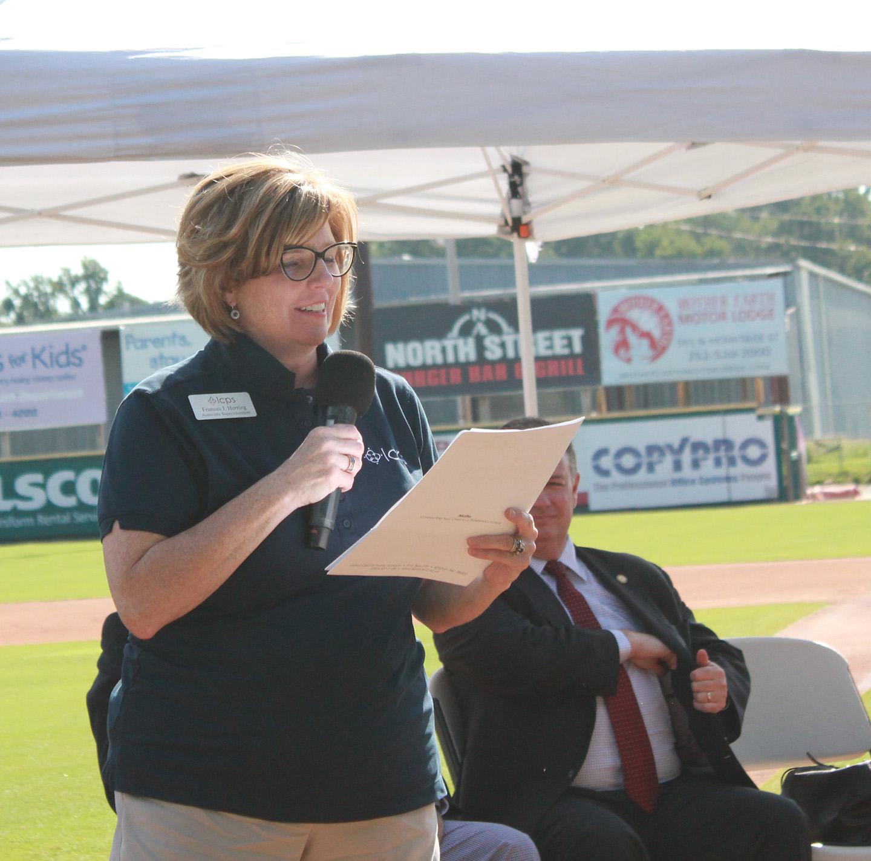 Lenoir County Public Schools Associate Superintendent Frances Herring