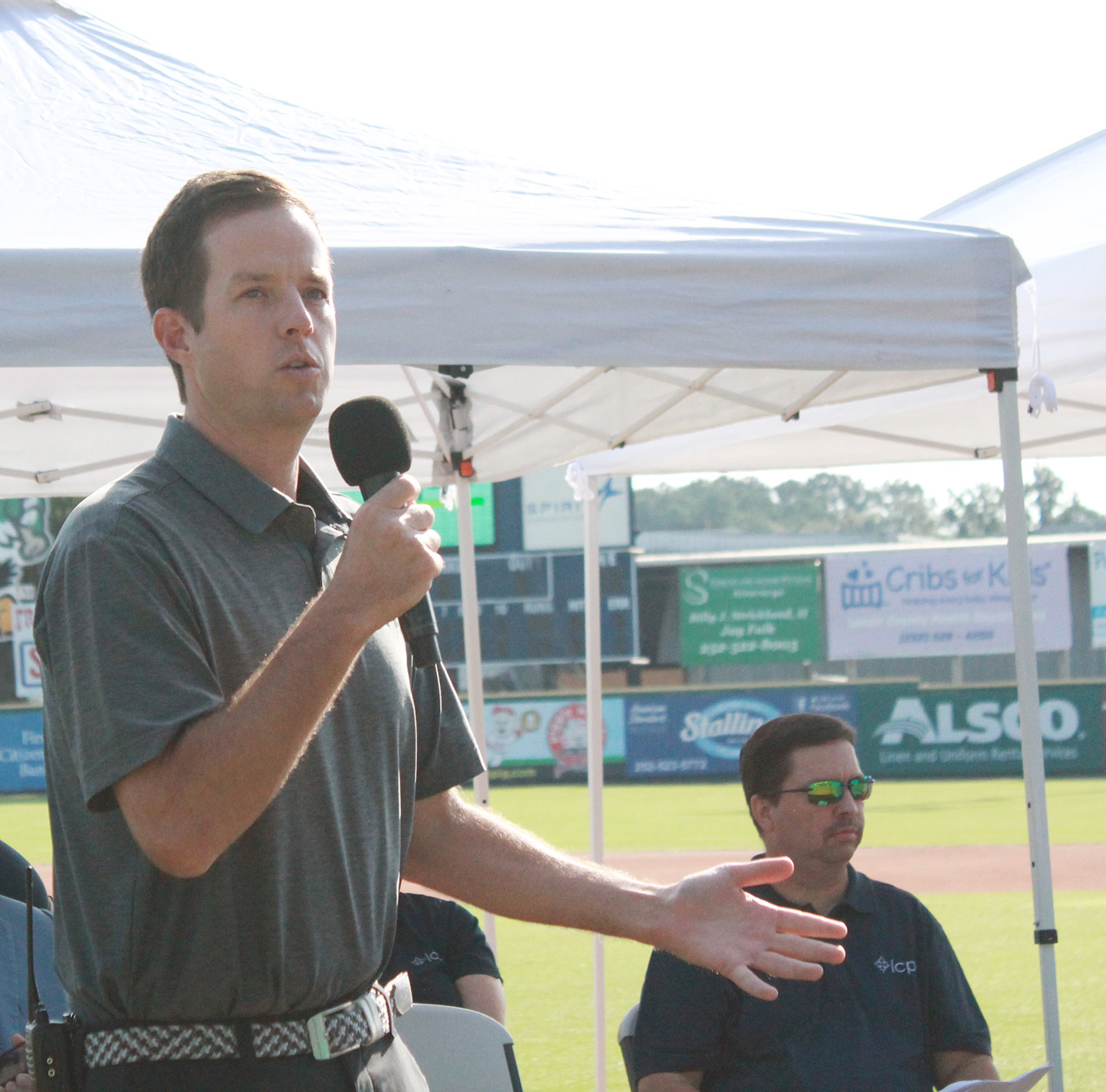 Down East Wood Ducks Assistant General Manager and Director of Sales Jon Clemmons