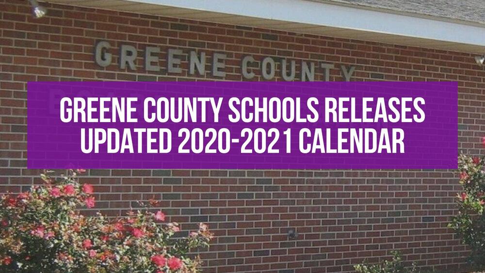 Greene County Public Schools Calendar 2021-2022 Pictures