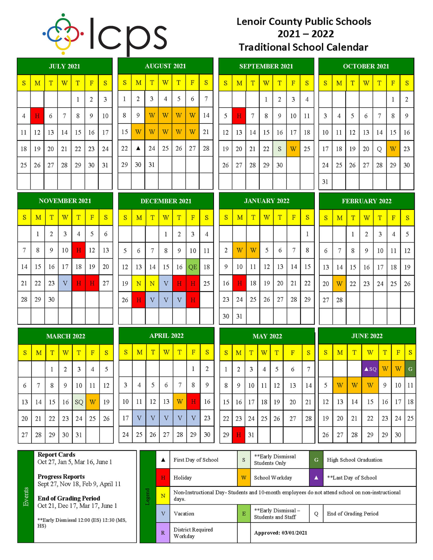 Lcc Calendar 2022.Hoping For A Normal School Year Lcps Sets Calendar For 2021 2022 Neuse News