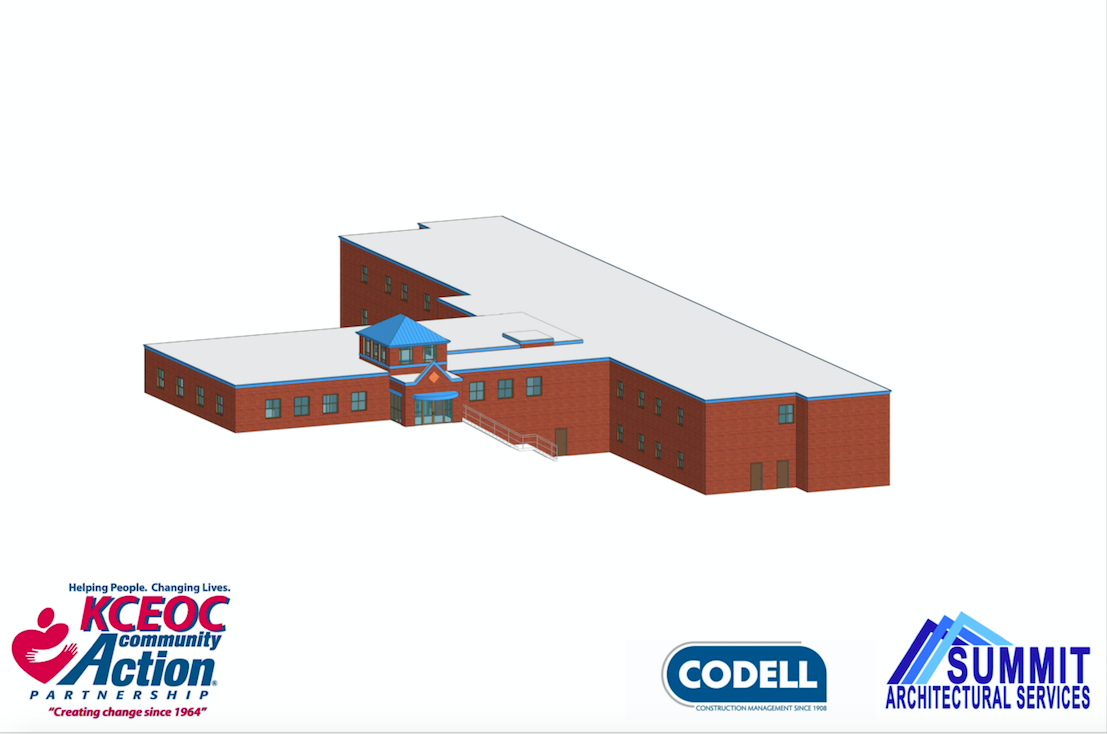 Summit Architectural Services provided this rendering of the future Barbourville Work Ready Training Center.